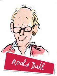 Dessin de Roald Dahl par Quentin Blake